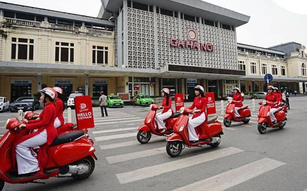 Go-Viet ra quân tại Hà Nội với giá bùng nổ 1.000 đồng/chuyến dưới 6km. Tuy nhiên vẫn chưa phải là ưu thế...