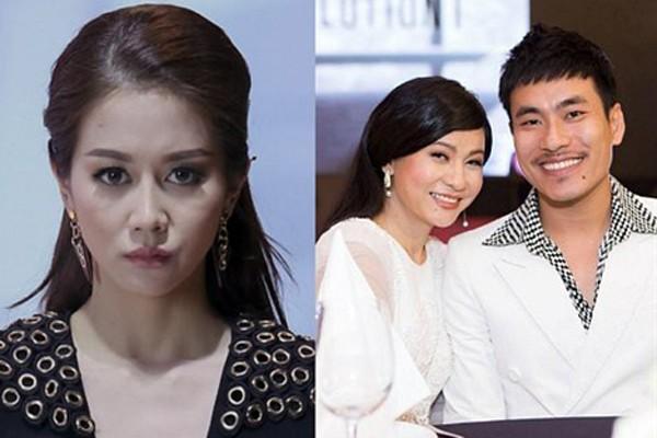 Chuyện tình tay ba mập mờ của 1 chàng và 2 nàng gây tranh cãi trong showbiz Việt.