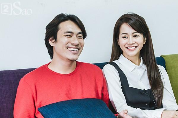Kiều Minh Tuấn và An Nguy cùng trả lời phỏng vấn về tình yêu của họ.