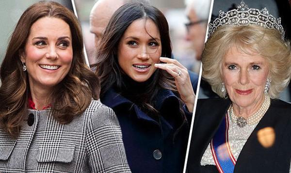 Bà Camilla khiến con dâu cảm thấy khó chịu.