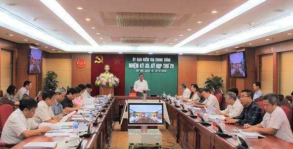 Nhiều sai phạm của cá nhân, tổ chức đã được UBKT Trung ương kết luận, kiến nghị.