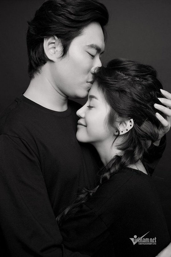 Kiều Minh Tuấn và An Nguy khẳng định đang yêu nhau.