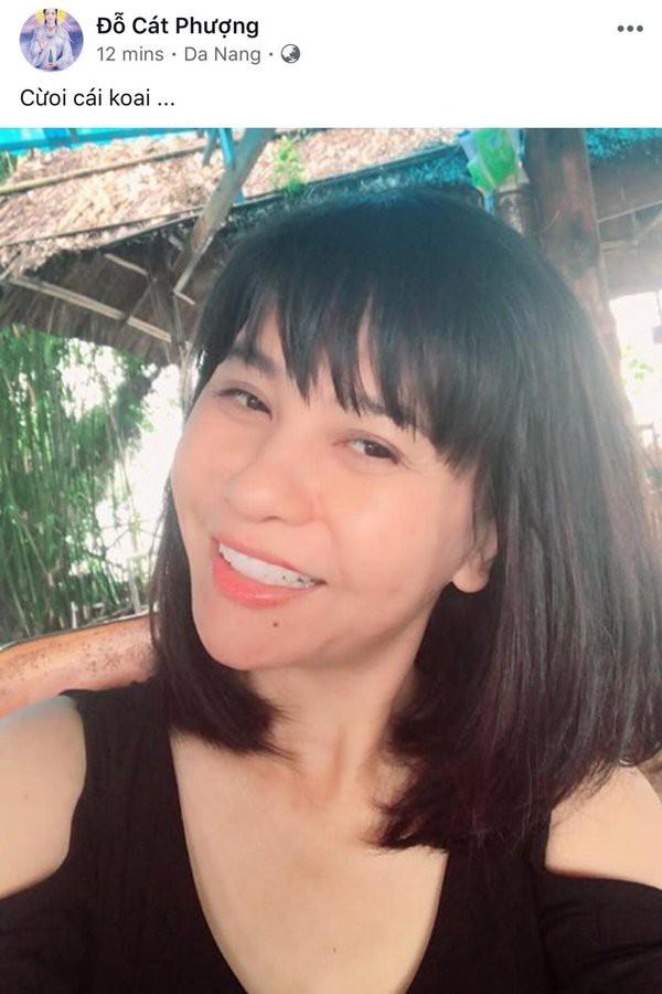 Cát Phượng chia sẻ hình ảnh rạng rỡ của mình khi đi du lịch tại Đà Nẵng cách đây ít giờ.