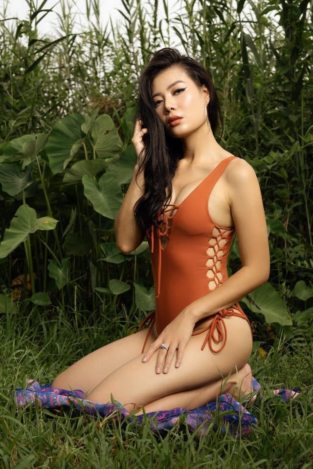 Thanh Hương từng tham gia một cuộc thi người đẹp trước khi đóng phim.