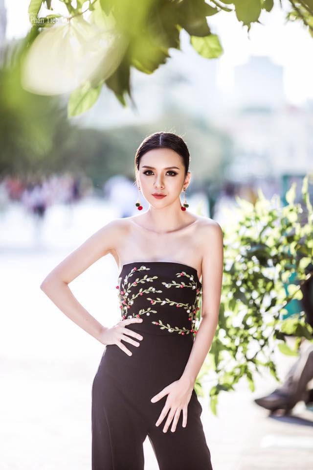 Thảo Vy là đánh giá ứng viên sáng giá cho vương miện Hoa hậu Việt Nam 2018.