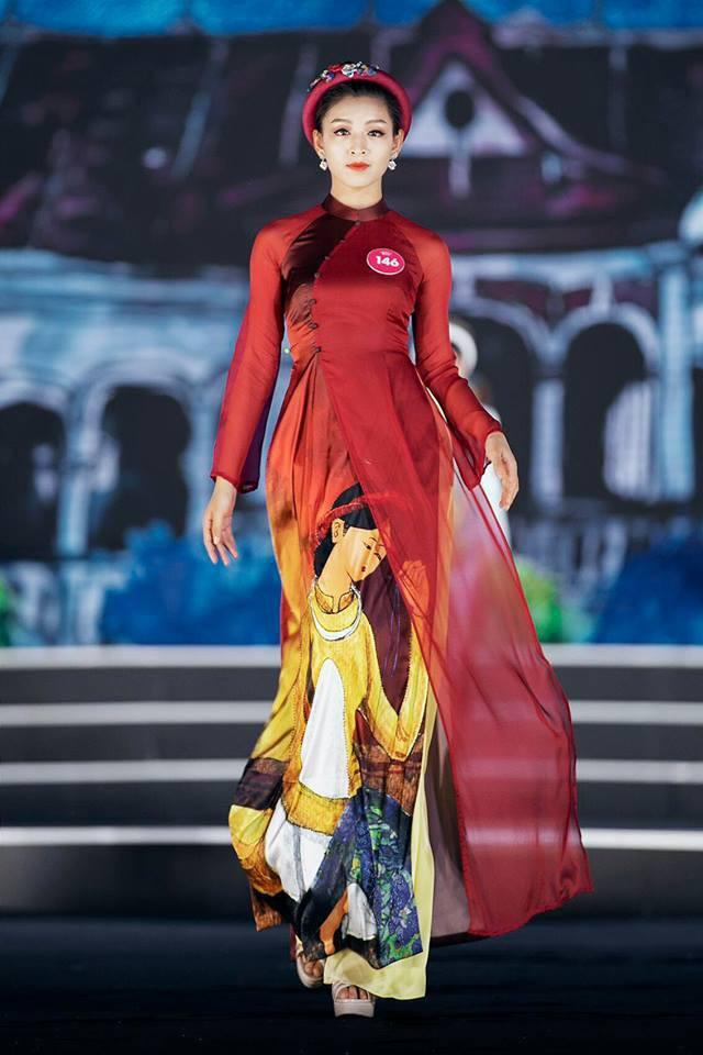 Lê Thanh Tú là cái tên được chú ý sau cuộc thi Hoa hậu Hoàn vũ Việt Nam 2017.