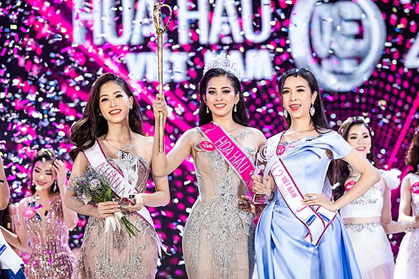 Việc Trần Tiểu Vy đăng quang Hoa hậu Việt Nam 2018 trở thành niềm tự hào của các thầy cô ở trường THPT Vạn Hạnh, TP.HCM.