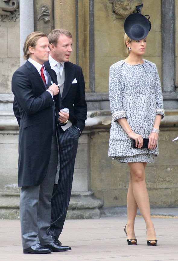 Isabella dự đám cưới của Hoàng tử William vào năm 2011.