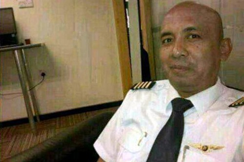 Cơ trưởng Zaharie Ahmad Shah của chuyến bay MH370. Ảnh: Straits Times