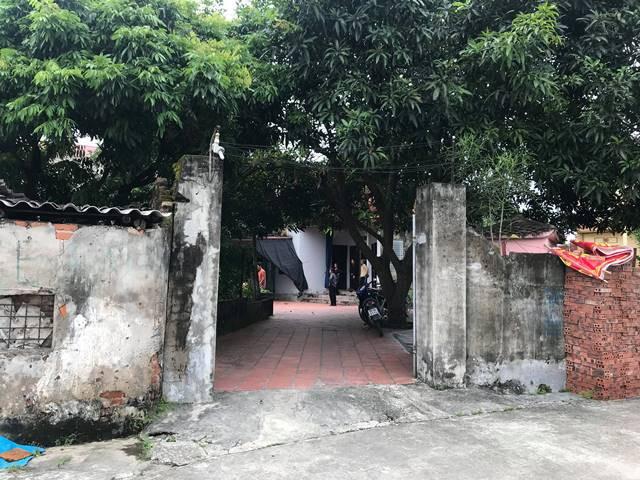 Căn nhà nhỏ của bố mẹ đẻ nạn nhân.