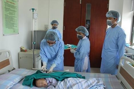Điều trị bệnh Thalassemia tại Viện Huyết học - Truyền máu Trung ương. Ảnh: TL