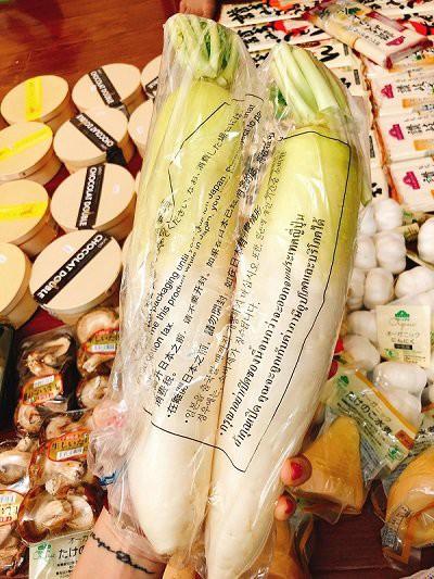 Củ cải Nhật trọng lượng 2kg giá có thể lên tới 0,5 triệu đồng (ảnh: Khuc Ngoc Anh)