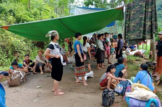 Người dân bản Pọong mất nhà cửa, nguy cơ nghèo đói đang hiện hữu, họ cần lắm sự chung tay chia sẻ của cả cộng đồng