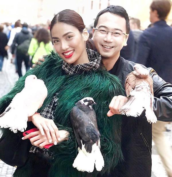 Lan Khuê và bạn trai đại gia sẽ tổ chức đám cưới vào tháng 10 tới.