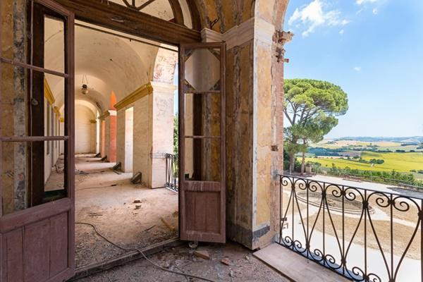 Góc nhìn toàn cảnh từ một căn nhà tại Italy.