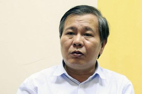 Phó giám đốc Sở Giáo dục Lê Ngọc Quang. Ảnh: Gia Chính.