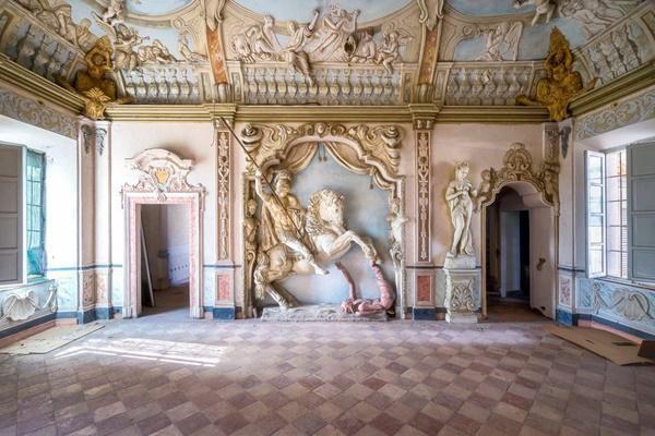 Ngôi nhà của một vị anh hùng tại Italia.