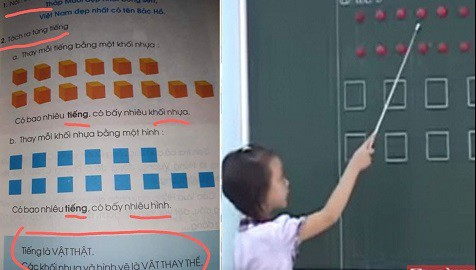 """Sách giáo khoa """"tròn - vông - tam giác"""" của giáo sư Hồ Ngọc Đại thêm một lần """"sóng gió"""" - Ảnh 3."""