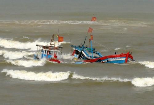 3 tàu cá bị chìm khiến 8 ngư dân mất tích (ảnh minh họa)