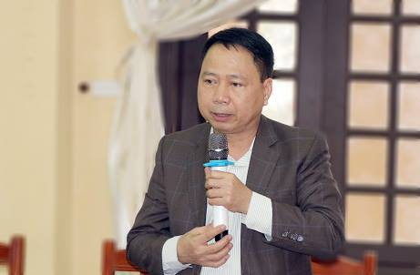Ông Nguyễn Hồng Lâm - Chủ tịch UBND huyện Quốc Oai