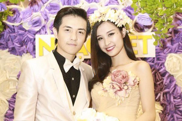 Cặp đôi Đông Nhi - Ông Cao Thắng. Ảnh: TL