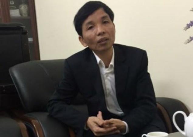 Ông Nguyễn Trọng Điều bị miễn nhiệm chức vụ Phó chánh thanh tra tỉnh từ ngày 1/1/2018. Ảnh: TL