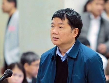 Ông Đinh La Thăng tại tòa (ảnh tư liệu)
