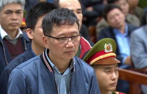 Bị cáo Trịnh Xuân Thanh. Ảnh: Internet