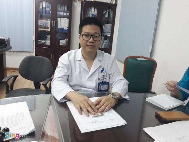 PGS.TS Lê Hữu Doanh, phó Giám đốc Bệnh viện Da liễu Trung ương. Ảnh: HQ.