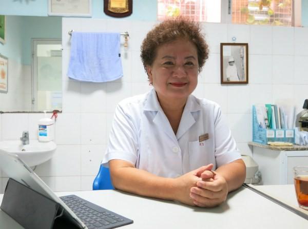 Bác sĩ Lê Thị Kim Dung.