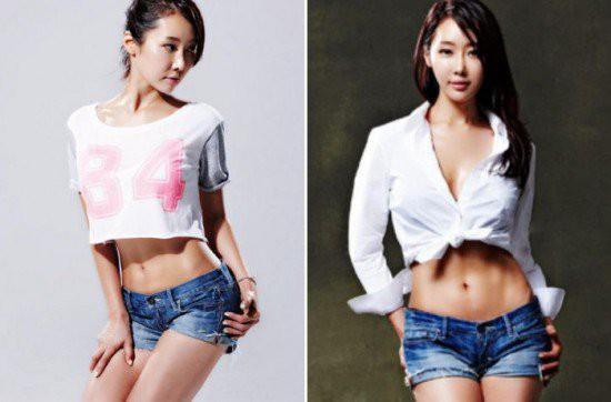 Người mẹ 50 tuổi Lee Soo Jin với vóc dáng mảnh mai như thiếu nữ đôi mươi khiến ai cũng ghen tị. (Ảnh: Internet)