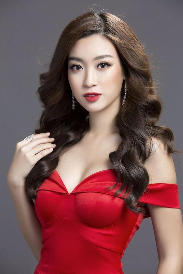 """Nhan sắc của Đỗ Mỹ Linh ngày càng """"thăng hoa"""" quyến rũ hơn từ khi đăng quang ngôi vị Hoa hậu."""