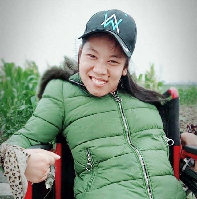 Cô gái đầy nghị lực Nguyễn Lan Hương.