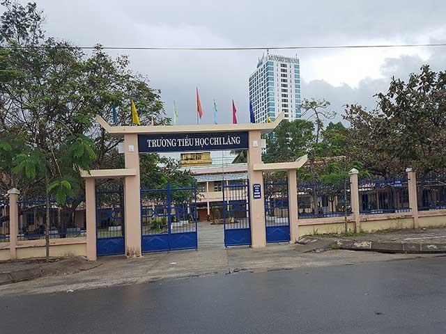 Trường Tiểu học Chi Lăng, nơi xảy ra vụ việc. Ảnh: NT