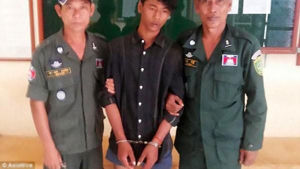 Nghi phạm bị bắt giữ và có thể đối mặt 5-10 năm tù giam.