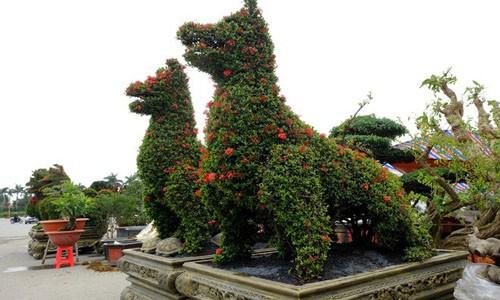 Mẫu đơn hình chó được định giá tới 250 triệu đồng.