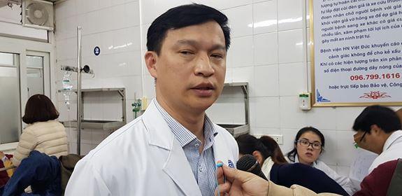 Bác sĩ Phạm Vũ Hùng - Khoa phẫu thuật nhiễm khuẩn (BV Việt Đức). Ảnh: Võ Thu