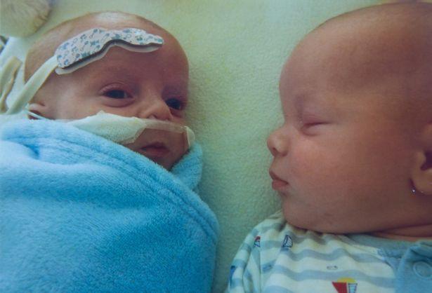 Hai anh em Roman và Hunter.