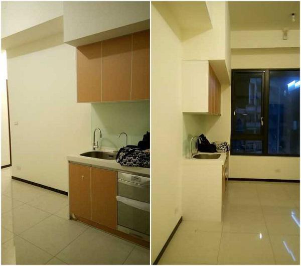 Bài toán ở đây là, làm thế nào căn hộ chỉ 45m2 này đủ chỗ cho 4 người trong gia đình sinh hoạt thoải mái?