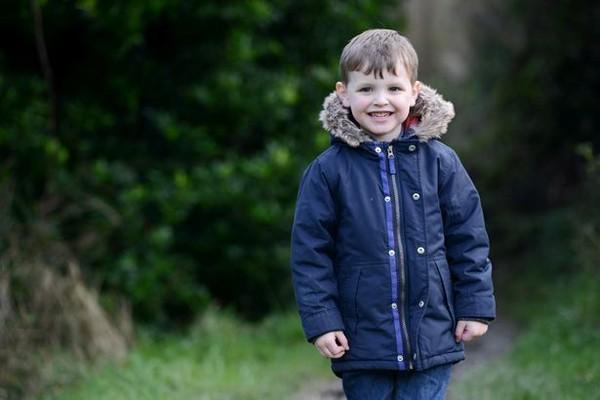 Toby hiện 4 tuổi, là một em bé khỏe mạnh. Ảnh: Plymouth Herald WS