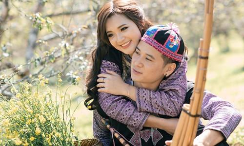 Thời điểm họ quen nhau bố Hương đang bị bệnh nặng. Sự chăm sóc của cô và tình yêu dành cho bố khiến Tuấn cảm động. Ảnh: NVCC.