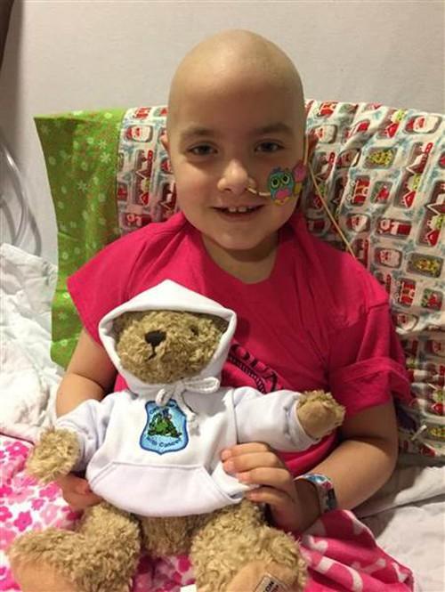 Kelly trong thời gian điều trị ung thư.