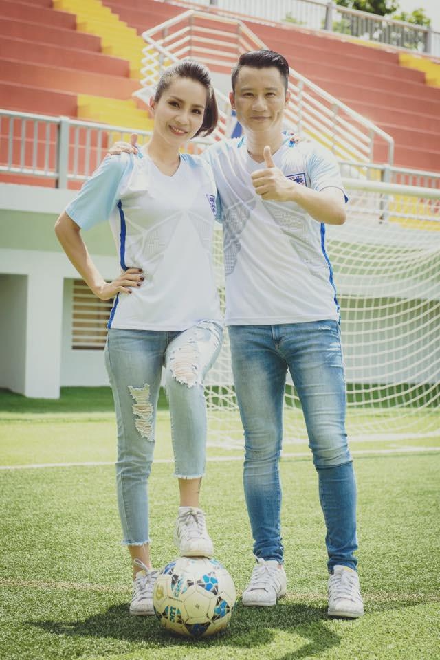 Vợ chồng Thanh Thảo - Hoàng Bách rất hòa hợp cả trong sở thích yêu thể thao.