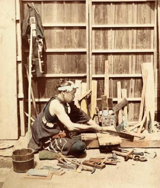 Kỹ thuật ghép mộng gỗ tinh xảo được người Nhật kế thừa từ thời xa xưa.