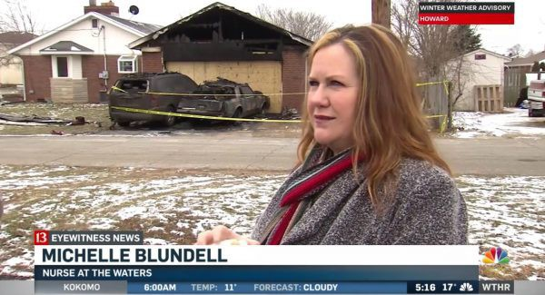 Blundell - một trong 3 người đã cứu gia đình Howe khỏi đám cháy. (Ảnh: theepochtimes)