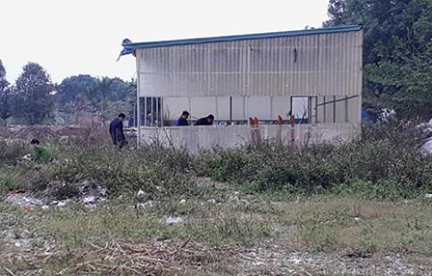 Ngôi nhà nơi phát hiện người đàn ông chết trong tư thế treo cổ