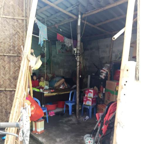 Căn nhà nhỏ của mẹ con Linh.