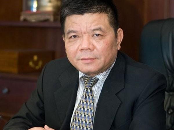 Ông Trần Bắc Hà khi còn công tác (ảnh BIDV).