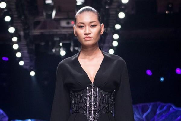 Kim Anh thời còn làm người mẫu.