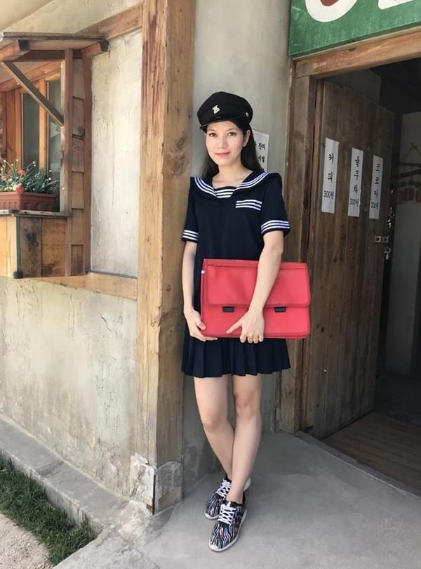 Nhan sắc ngọt ngào của thí sinh Hoa hậu Việt Nam 2008.